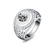 cheap -Women's Statement Rings Fashion Silver Plated Jewelry Wedding Party Daily Casual