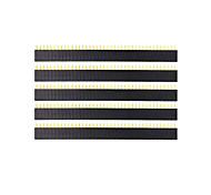 Недорогие -Ланда Tianrui TM-поделки 40-контактный 2,54 женский заголовок - черный (5 шт)