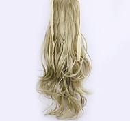льняные длина 50см завод прямые продажи связать тип локон хвощ волос хвостик (цвет 16/613)