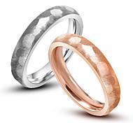 Кольца В форме черепа Мода Повседневные Бижутерия Кольца для пар 1 пара,Стандартный размер Серебряный