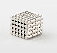 cheap -100 pcs 2*2mm Magnet Toy Building Blocks / Neodymium Magnet / Super Strong Rare-Earth Magnets Magnet Gift