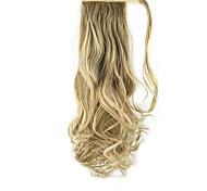 Недорогие -На клипсе Конские хвостики Оберните вокруг Искусственные волосы Волосы Наращивание волос Кудрявый Волнистый