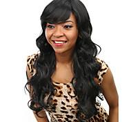 Недорогие -AISI HAIR жен. Парики из искусственных волос Естественные кудри Черный Парик для Хэллоуина Карнавальный парик Парики к костюмам