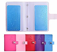 cheap -20slots Rectangular Nail Art Stamping Plates Empty Template Case Holder Organizer for 6cm*12cm Stencil Album Storage