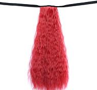 Недорогие -парик красный 50см воды синтетическая высокая температура проволоки горячая кукуруза хвоща цвет 130m