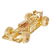 cheap -Toy Cars 3D Puzzles Jigsaw Puzzle Metal Puzzles Race Car Toys Car 3D DIY Metal Pieces