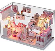 Недорогие -1шт поделок дом сказочной принцессы творческие подарки Подарок обучающие игрушки Светодиодные лампы