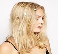 Женский Сплав металлов Заставка-Особые случаи На каждый день на открытом воздухе Заколка для волос Шпилька Аксессуар для волос 6 предметов