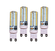 abordables -4pcs 5W 450 lm G9 Luces LED de Doble Pin T 104 leds SMD 3014 Decorativa Blanco Cálido Blanco Fresco AC 200-240V AC 220-240V