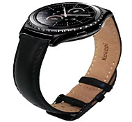 cheap -Watch Band for Gear S2 Classic Samsung Galaxy Leather Loop Leather Wrist Strap