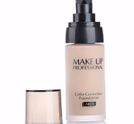 cheap -3 Foundation Wet Liquid Whitening Anti-Aging Moisture Coverage Oil-control Long Lasting Concealer Uneven Skin Tone Natural Dark Circle
