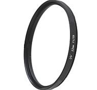 EMOBLITZ 52mm UV ultravioleta filtro protector de lente negro