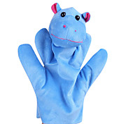 cheap -Dinosaur Finger Puppets Puppets Hand Puppet Cute Animals Large Size Lovely Novelty High Quality Textile Plush Girls' Gift