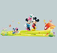 мультфильм мышь стены стикеры окружающей гостиной стены спальни наклейки