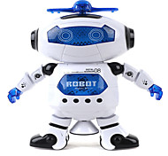 cheap -360 Rotating Children Electronic Walking Dancing Smart Space Robot Kids Cool Astronaut Model Music Light Toys