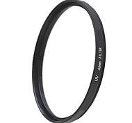 EMOBLITZ 46mm UV ultravioleta filtro protector de lente negro