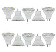 Недорогие -2 Вт. 150-200 lm GU4(MR11) Декоративное освещение MR11 9 светодиоды SMD 5730 Декоративная Тёплый белый Холодный белый 9-30