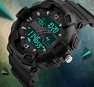 SKMEI® Men's Fashion Sport Analog Digital Three Time Rubber Band Waterproof Watch Fashion Watch Cool Watch