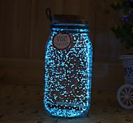 1pc tampion Noctilucence la luz solar de la noche artware deseando la botella de luz nocturna