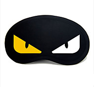 cheap -Travel Sleeping Eye Mask Type 0039 White And Yellow Devil Eyes