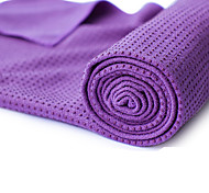 Deluxe Slip Resistant Yoga Towels Microfiber Yoga Towel, Non-Slip, Sweat Absorbent, Improves Your Grip, Protects Your Mat