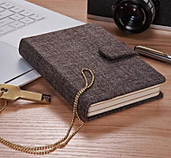 Cashmere Lamao Lloth Business Notebook Student Exercise Book (Small Size)