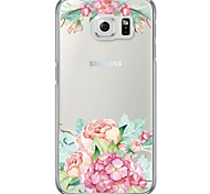 Colorful Flower Pattern Soft Ultra-thin TPU Back Cover For Samsung GalaxyS7 edge/S7/S6 edge/S6 edge plus/S6/S5/S4