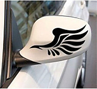 cheap -White / Black / Yellow Car Stickers Chinese Style Rearview Mirror Stickers Animal Stickers