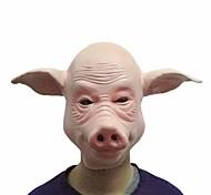 máscaras de porco cosplay rosto cheio o dia das bruxas festival festa a fantasia de borracha vestido de festa máscara ferramenta engraçada