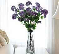 cheap -1 Branch Plastic Hydrangeas Floor Flower Artificial Flowers