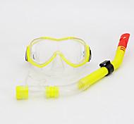 Diving Masks Snorkeling Packages Snorkels Snorkel Set Anti-Fog Adjustable Diving / Snorkeling PVC silicone