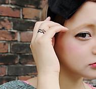 Женский Классические кольца Мода Панк По заказу покупателя Резина Бижутерия Назначение Повседневные