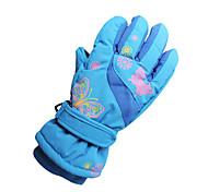 Недорогие -Лыжные перчатки Детские Сохраняет тепло холст Катание на лыжах