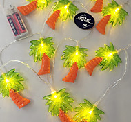 cheap -1PC LED Home Christmas Outdoors Decorate 1.65M 10 Dip Waterproof String Lights