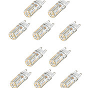 2W G9 LED Bi-pin Lights T 58 SMD 3014 165 lm Warm White Cold White Natural White 3000-6000 K Waterproof Decorative AC 220-240 AC 110-130 V