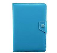 Недорогие -Кожа PU Сплошной цвет планшетный случаи универсальный 10-дюймовый планшет