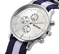 Unisex Watches Men Fashion Sports Watch Luxury Brand Nylon Strap Casual Watch Wristwatch Relogio Masculino Male Clocks