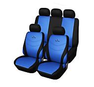 9 шт сиденье автомобиля включает серый синий красный универсальный подходит гоночный сиденья вышивка полиэстера