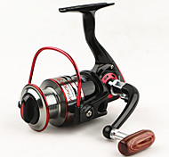 cheap -Spinning Reel 5.1/1 Gear Ratio+11 Ball Bearings Hand Orientation Exchangable Spinning / Lure Fishing - MH1000-4000