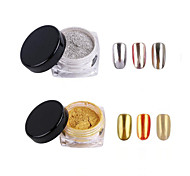 cheap -2pcs Nail Jewelry Glitter & Poudre Powder Glitters Classic High Quality Daily Nail Art Design