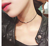 cheap -Women's Personalized Tattoo Style Party Work Casual Fashion Adorable Choker Necklace Tattoo Choker Alloy Choker Necklace Tattoo Choker ,