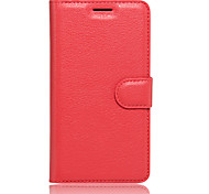 Case for LG K10 (2017)  K8 (2017) Cover Card Holder Wallet with Stand Flip Full Body Case Solid Color Hard PU Leather for LG K3(2017)(Assorted Colors)