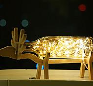 baratos -originalidade cabeceira exibição 1pc criativo lâmpada gabinetes conduziu a lâmpada lenhosa de fogos de artifício e um mar de lanternas luz