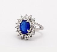 cheap -Women's Statement Ring Fashion Zircon Alloy Costume Jewelry Wedding Party