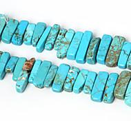 beadia природных бирюзовый камень бисером 10-30mm неправильной формы камень разделительные бусины 38см / ул (около 50шт)