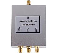 3-полосная сма типа делитель мощности сплиттер 380-2500mhz для мобильного телефона усилитель сигнала ретранслятора