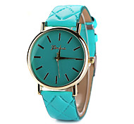 Women's Leather Band White Case Analog Quartz Wrist Watch Gift Cool Watches Unique Watches Fashion Watch