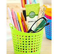 cheap -Portable Mini Desktop Use Plastic Receive Basket Sundry Receive Basket Household Storage Basket