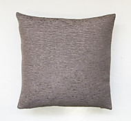 cheap -Wrinkled pure color cushion cover-Grey