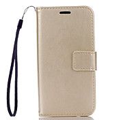 PU Leather Material Plain Solid Color Phone Cases for Samsung Galaxy J510/J310/J3/J1Mini/G530/G360